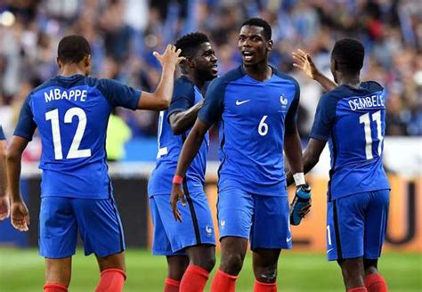ousmane dembele mbappe pogba advices france youngsters mbappe and dembele