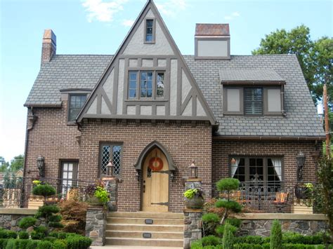tudor home like the stucco paint color outdoor spaces