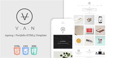 free minimal html template minimal agency portfolio html5 template by