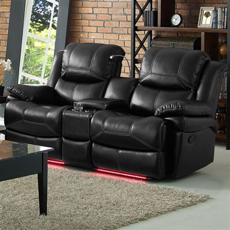 black reclining sofa and loveseat black leather loveseat griffin black bonded leather