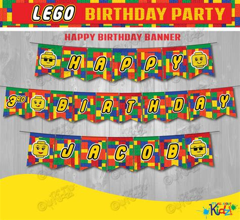 7 Best Images Of Lego Birthday Banner Printable Free Printable Lego Birthday Banner Happy Lego Happy Birthday Banner Template