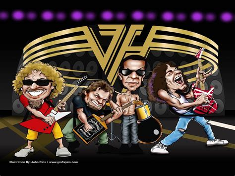 wallpaper cartoon rock eddie van halen wallpapers wallpaper cave