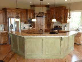 Island Bar Kitchen by Kitchens Cerretti Construction