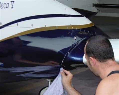 Flugzeug Polieren Kosten lackieren
