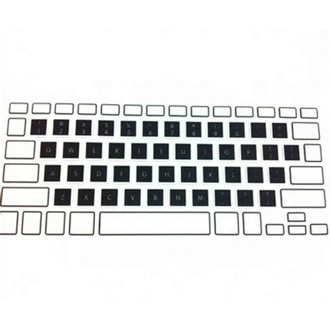 Keyboard Cover Skin For Macbook 17 With Mac Pro Air Waterpro T2709 100x rainbow silicone keyboard skin protector cover