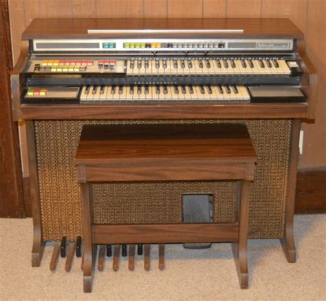 Electric Organ sears quot galaxy 4148 quot electric organ