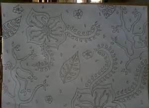 membuat gambar batik sederhana satu tulisan