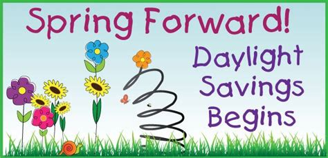 when is day light savings daylight savings time to spring forward cadence education