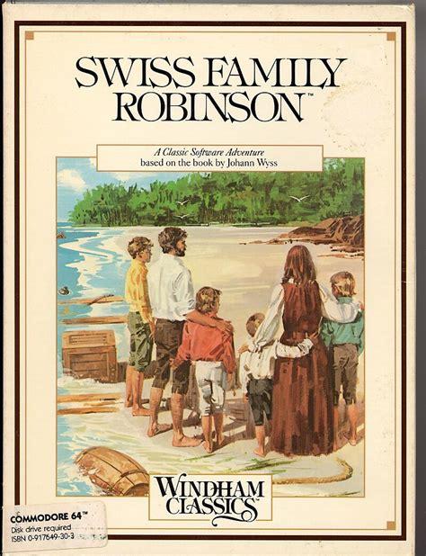the swiss family robinson b00166yc9w swiss family robinson 1984 apple ii box cover art mobygames