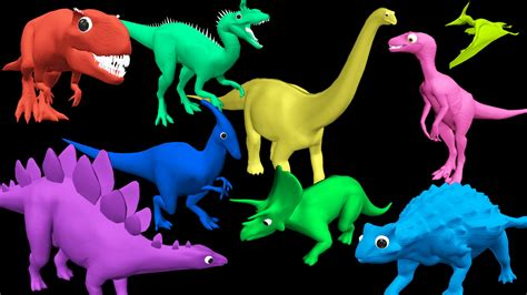 Doh Colors Dinosaurs 1 color dinosaurs play doh toys collections