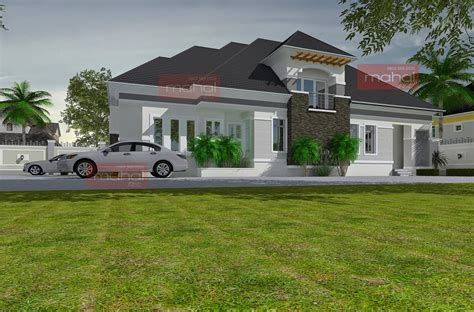 Floor Plans For 3 Bedroom Flats by Contemporary Nigerian Residential Architecture