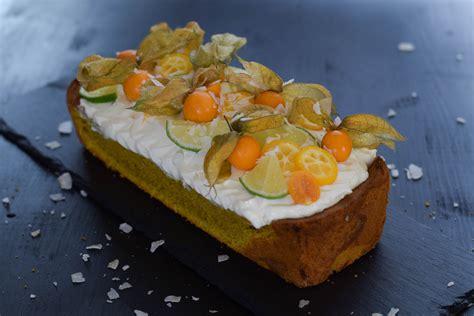 Exotischer Kurkuma Kuchen Mintnmelon