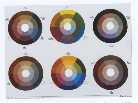 earth tone color wheel paintxdraw color theory