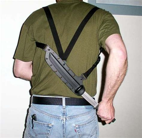 knife shoulder holster 1000 ideas about tactical holster on gun