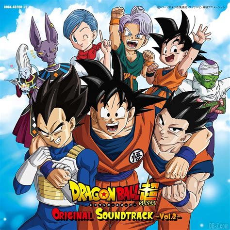 imagenes de goku original dragon ball super original soundtrack vol 2 ongaku no