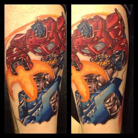 optimus prime tattoo 17 best images about tattoos on deadpool