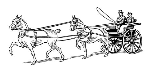coloring pages horse and carriage free coloring pages of carriage and horses