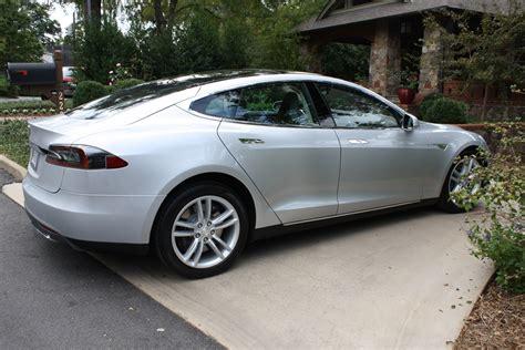 Tesla Model S Silver 2012 Tesla Model S Signature Diminished Value Car Appraisal