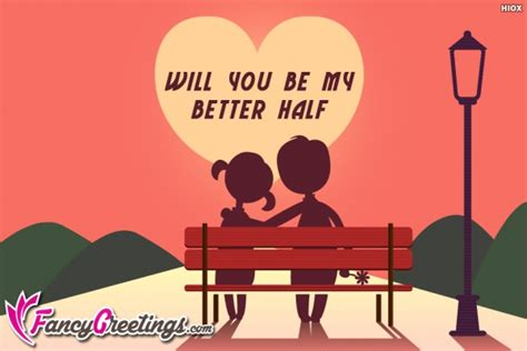 will you be my better half quotes
