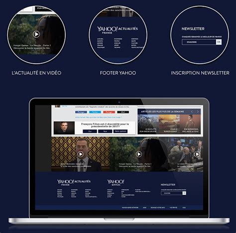 yahoo new layout 2015 yahoo material design concept