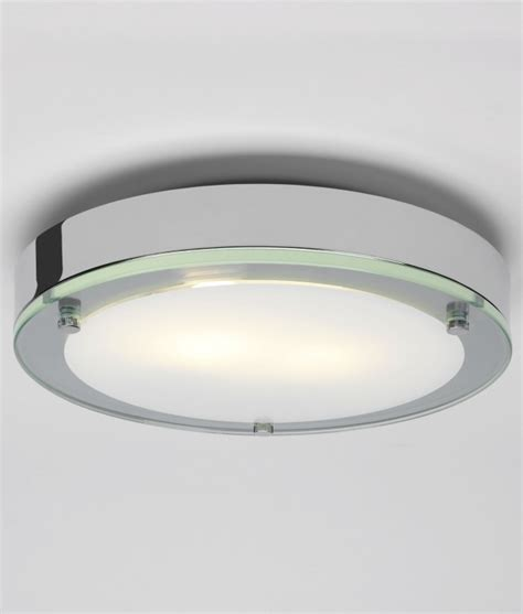 Bathroom Ceiling Lights Uk Flush Chrome Bathroom Light Dia 280mm