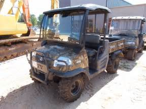 kubota side by side 4 wheeler kubota rtv 900 side by side atv vin sn 31159 4x4 diesel