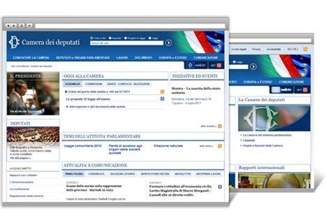 sito dei deputati realizzazione sito web della dei deputati clienti