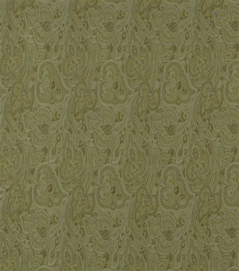 home decor solid fabric robert allen paisley fleur oasis