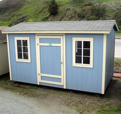 Sheds California by California Custom Sheds 8 X 14 Peak Roof Package
