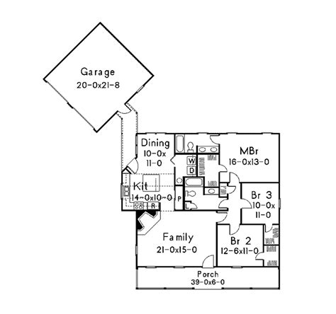 home plans and more cedarwood country bungalow home plan 040d 0003 house