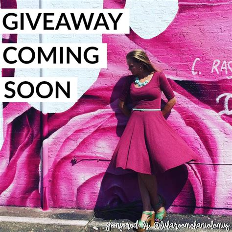 Giveaway Coming Soon - lularoe give away coming soon stay tuned lindsey ghoens