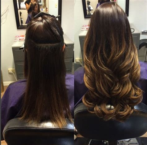 hairstyles for tape in extensions 81 best images about hair extensions before and after on