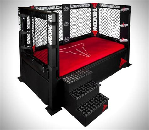 bed cage throwdown mma cage bed hiconsumption