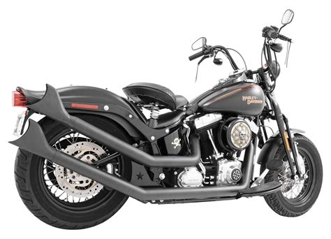 Exhaust For Harley Davidson by Freedom Performance Upswept Exhaust For Harley Softail