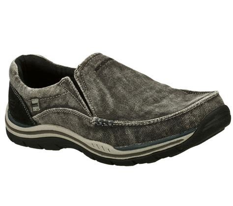 Skechers Loafers by Skechers 64109 Blk S Expected Avillo Loafers Ebay