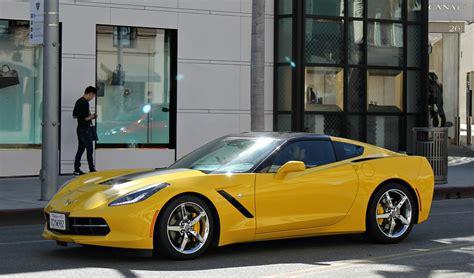 corvette c7 yellow chevy chevrolet corvette c7 stingray supercars