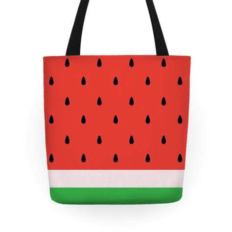Watermelon Totebag watermelon tote tote bags grocery bags and canvas bags