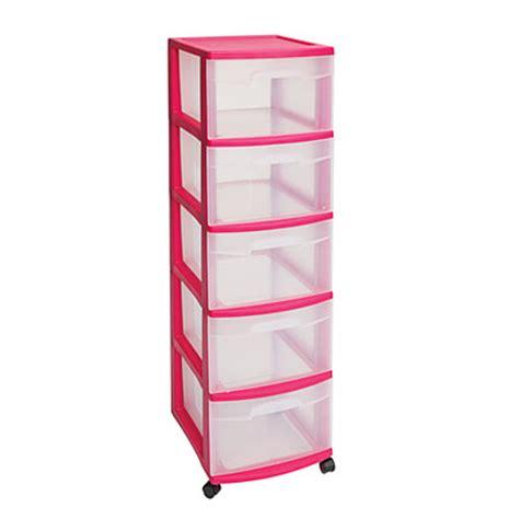 sterilite 3 drawer organizer pink view sterilite 174 5 drawer pink rolling storage cart deals