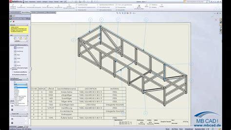 tutorial solidworks deutsch solidworks schwei 223 konstruktion in zeichnungen video
