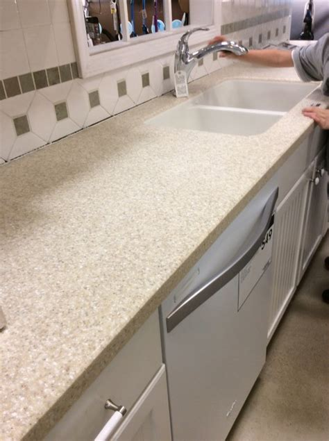lowes beechnut solid acrylic kitchen counter tops
