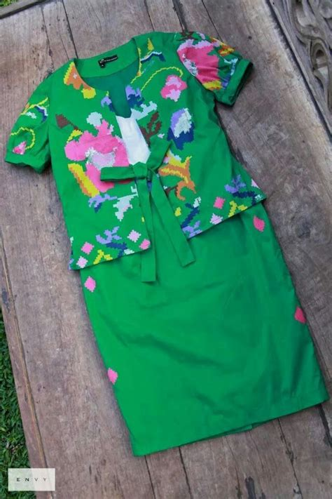 Blouse Batik Katun Premium Stretch Bl671 84 best images about tenun woven on