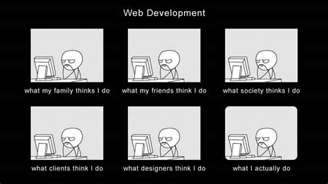 Web Developer Meme - what people think i do developer memes