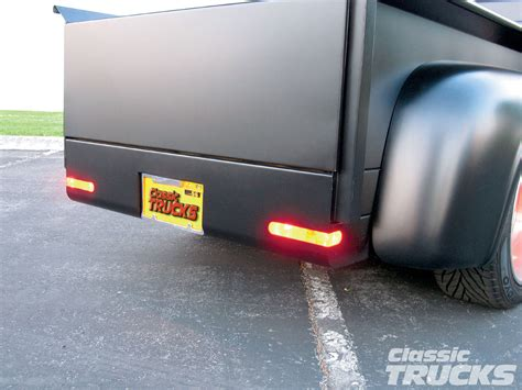 roll pan led tail lights pro s pick roll pan custom taillight install rod