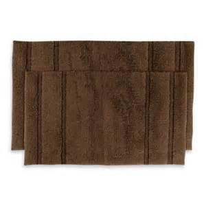 Chocolate Brown Bathroom Rugs Buy Blue Brown Bath Rug From Bed Bath Beyond