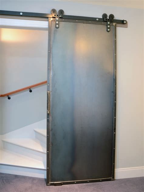 Riggo Design Riveting Steel Barn Door Steel Barn Doors