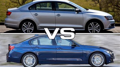 bmw volkswagen 2016 2016 volkswagen jetta vs 2016 bmw 3 series youtube