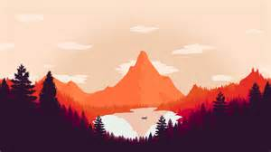 Flat Design Desk Are You Tired Of Fire Watch Inspired Art Yet Firewatch