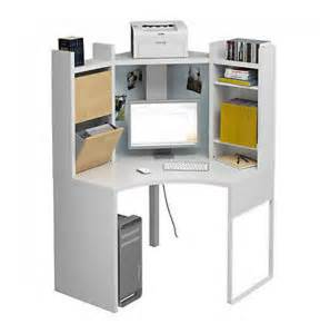 bureau en coin ikea blanc collection micke mobilier