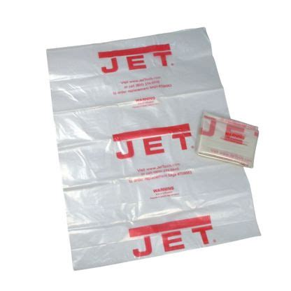 Ck3 Bag jet 709563 cb 5 clear plastic 20 in collection bag for