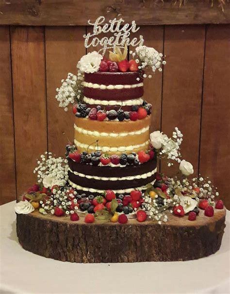 wedding pictures wedding photos wedding cake decorating naked wedding cake puttycakes